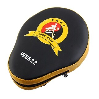 Boxing Target Training Karate Muay Thai PU Leather Punch Pad Gloves Yellow