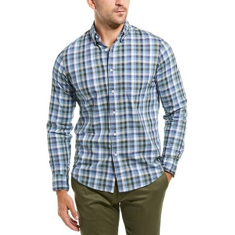J.Crew Flex Washed Plaid Slim Fit Woven Shirt