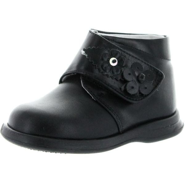 Elefantino Girls 4146 Little Walker Booties - Black - 21 m eu / 5-5.5 m us toddler