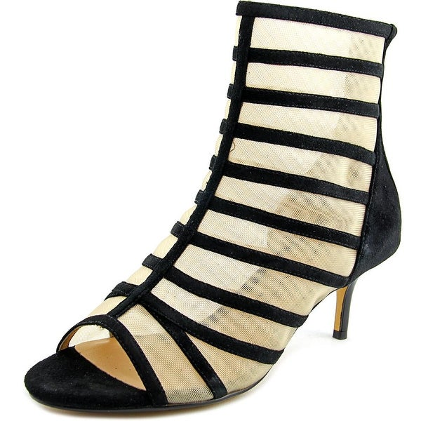Nina Chance Women Open Toe Suede Sandals