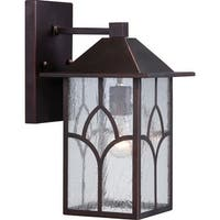 "Nuvo Lighting 60/5642 Stanton 8"" Width 1 Light Outdoor Lantern Wall Sconce"