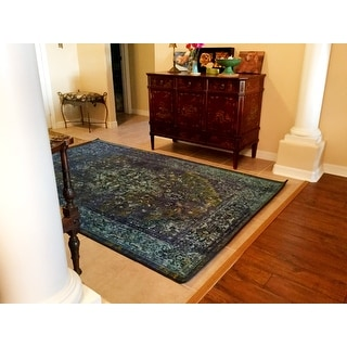 nuLOOM Traditional Vintage-Inspired Overdyed Oriental Rug (5' x 8')