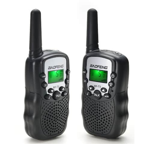 Baofeng Walkie Talkies 22 Channels 2 Way Radio 3 Miles (Up to 5 Miles) FRS/GMRS Toy for Kids 2 Pack - L