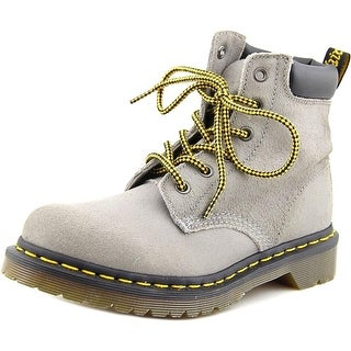 Dr. Martens Air Wair Core 939 Women Round Toe Leather Gray Work Boot