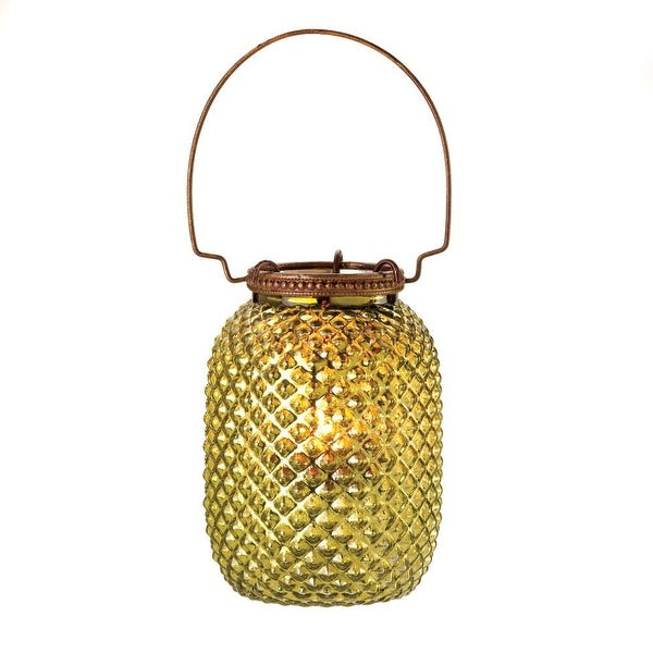 Creative Green Diamond Candle Lantern