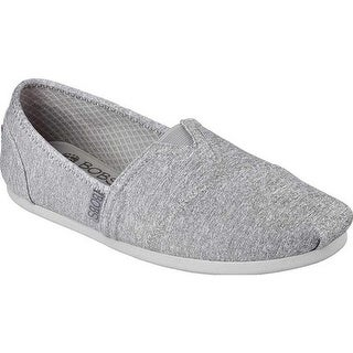 Skechers Women's BOBS Plush Express Yourself Alpargata Gray