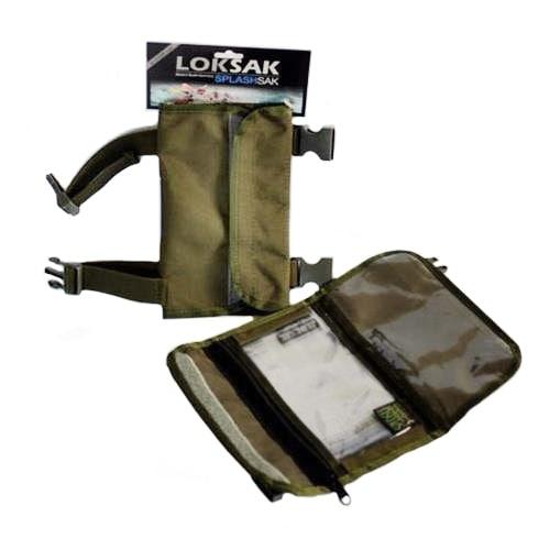"Loksak Military Tan Arm Pak with Two 4.5""x7"" Pouches"