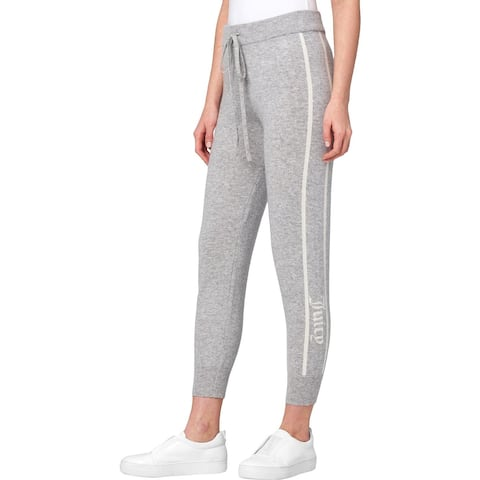 Juicy Couture Black Label Womens Track Pants Cashmere Jogger