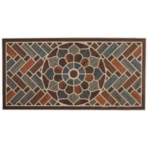 Mohawk Home Ornamental Grain Door Mat