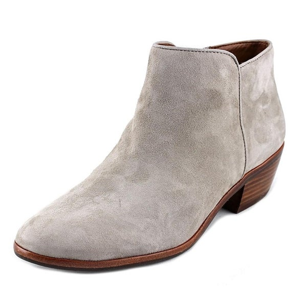 1259eeb3c Shop Sam Edelman Petty Women Round Toe Suede Gray Ankle Boot - Free ...