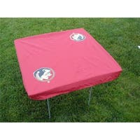 Rivalry RV196-4000 Florida State Card Table Cover