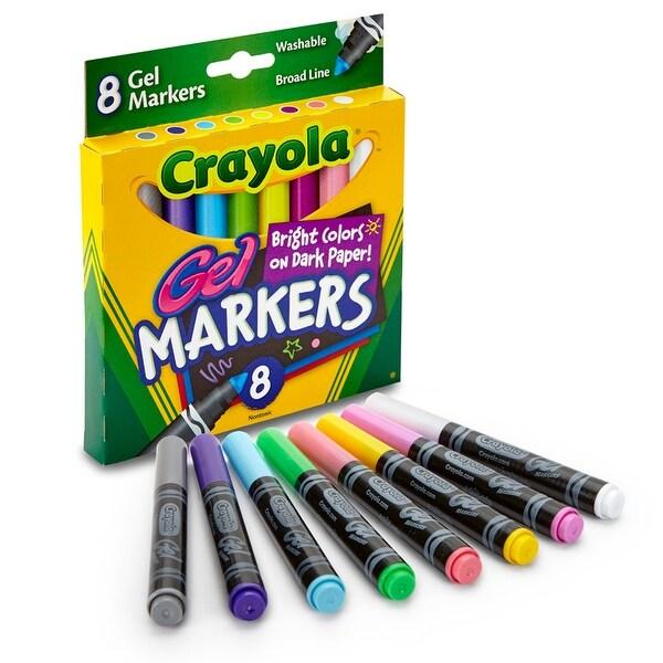 Crayola 8Ct Gel Fx Washable Markers
