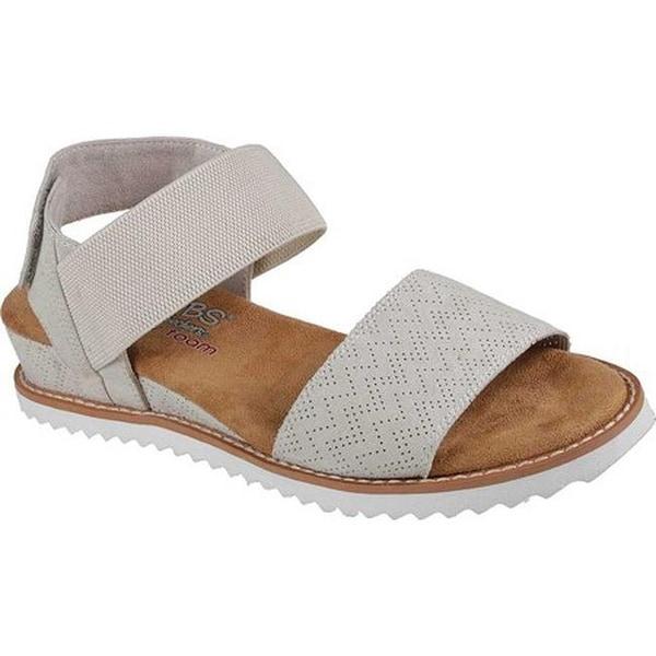 62fa8867f256 Shop Skechers Women s BOBS Desert Kiss Slingback Sandal Off White ...