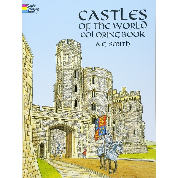 - Shop Dover - Coloring Book - Castles Of The World - Overstock - 14856960