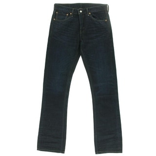 90ca773a00e Shop Levi's Mens 527 Slim Bootcut Jeans Denim Straight Fit - Ships To  Canada - Overstock - 16589411