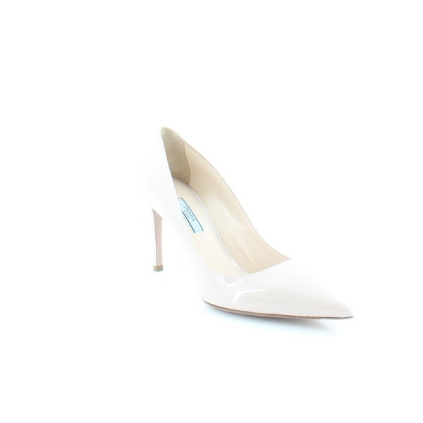 Prada Saffiano Women's Heels Seta - 8.5