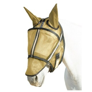 Noble Outfitters Fly Mask With Ears Fleece Canopy Bridle Loop