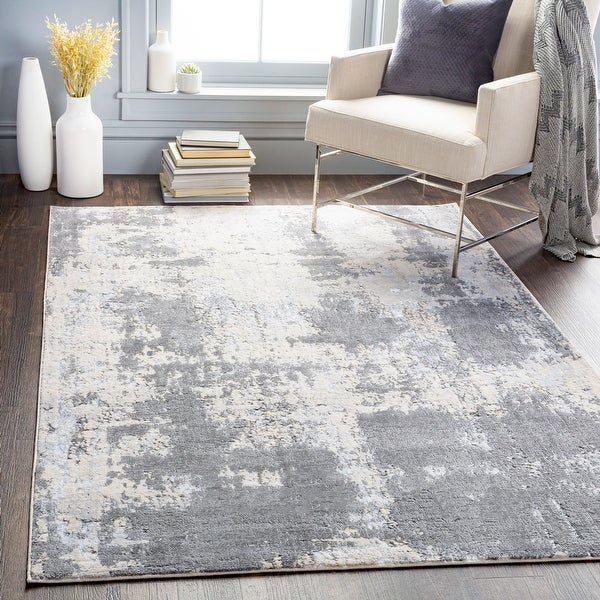Chemin Modern Abstract Area Rug. Opens flyout.
