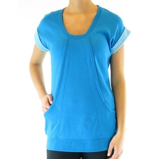 Ryka Womens Pullover Top Scoop Neck Semi Fitted