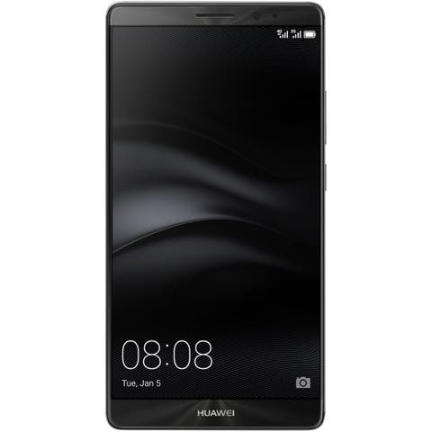 Huawei Mate 8 NXT-L09 32GB Unlocked GSM LTE Android Phone w/ 16MP Camera - Space Gray (Certified Refurbished)