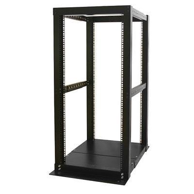 Startech 4Postrack25 25U 4 Post Server Open Frame Rack