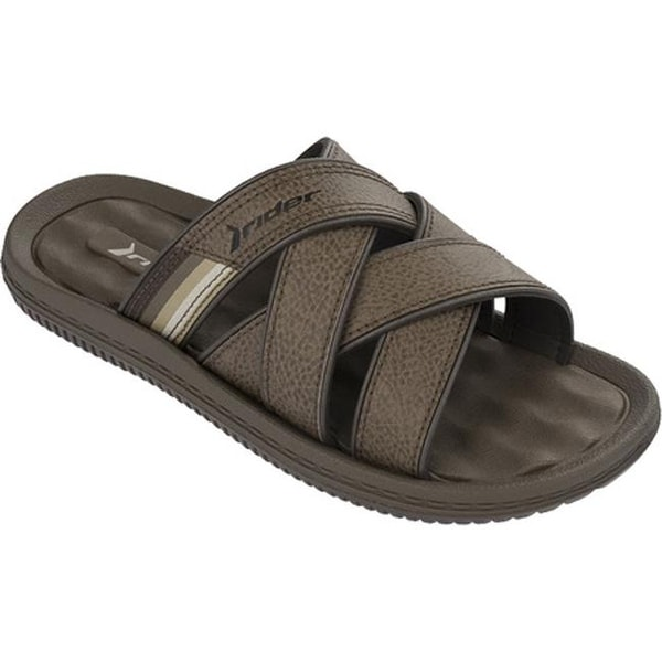 4f17c798a78c Shop Rider Men s Dunas Slide Brown - On Sale - Free Shipping Today ...