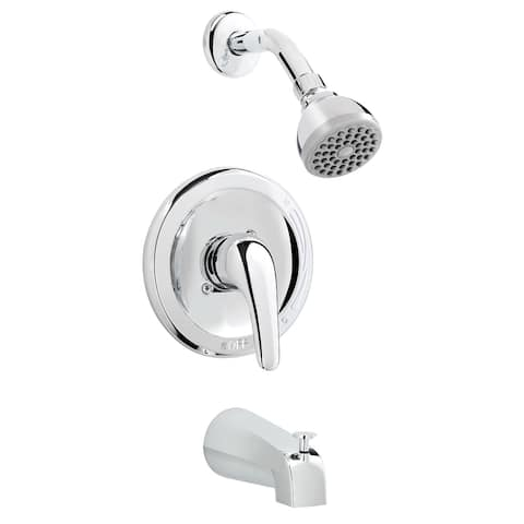 Belanger 4790CP Showerhead and Tub Faucet Combo, Polished Chrome