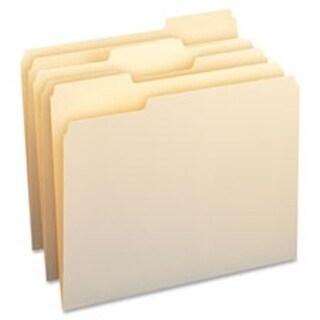 Business Source BSN43577 WaterShed Manila File Folders, 50 Per Box