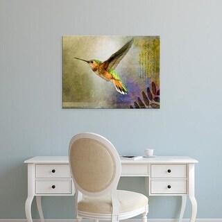 Easy Art Prints Chris Vest's 'Hummer Flight' Premium Canvas Art