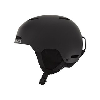 Giro Ledge Adult Snow Sports Hardshell Construction Helmet - MATTE BLACK