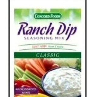 Concord Classic Ranch Dip - Case of 18 (1oz packets)