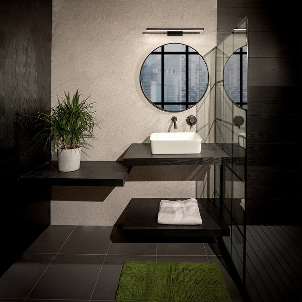 Parallax LED 3-CCT Up or Down Bathroom Vanity or Wall Light. Opens flyout.