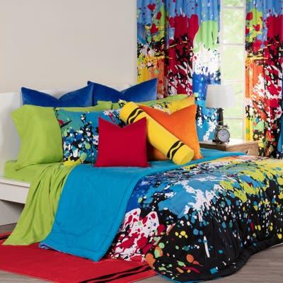 Crayola Twilight Zone Comforter and Shams Set