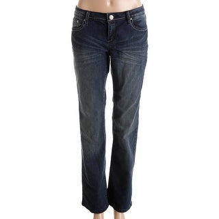 Jones New York Women's Haven Wash Madison Bootcut Jeans - Free ...