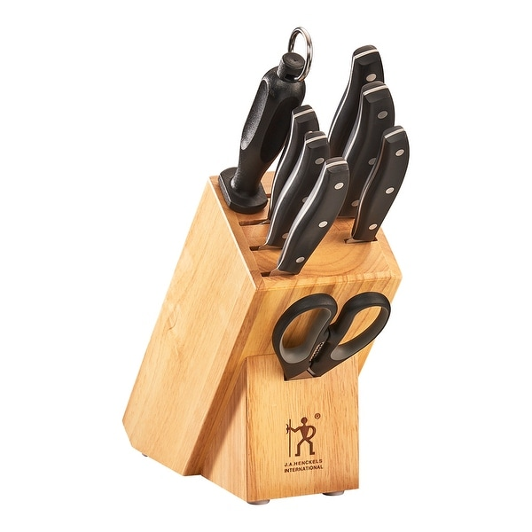 J.A. Henckels International Definition 9-pc Knife Block Set