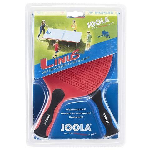 JOOLA Linus Indoor/Outdoor Two Racket Set / 51001 - Red