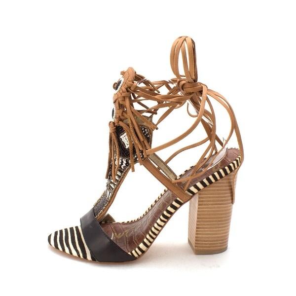 eae51804423d Shop Sam Edelman Womens Yates Leather Open Toe Special Occasion ...
