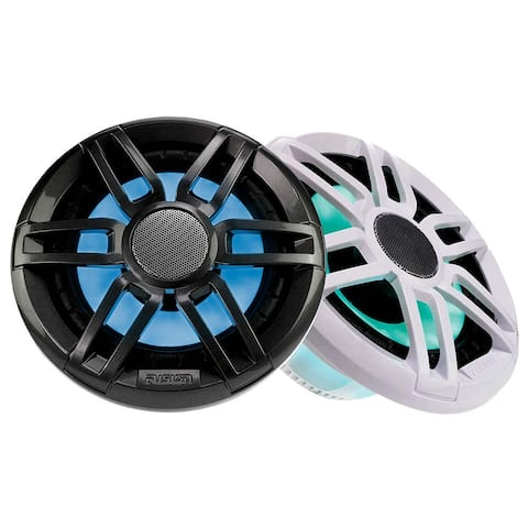Fusion XS-FL77SPGW XS Series 7.7Inch 240 Watt Sports Marine Speakers - Grey and White Grill Options 010-02197-20 Marine Speaker