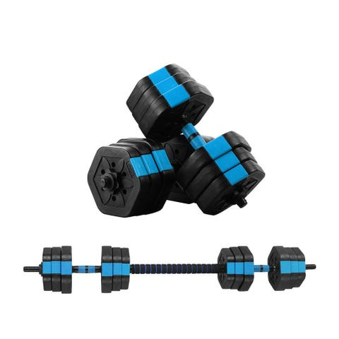 Zenova 2 in1 33lbs&44lbs$66lbs Adjustable Dumbbell