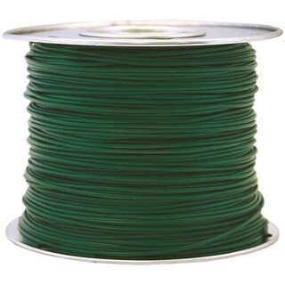 Coleman Cable 56422023 Primary Wire, 16-Gauge, 100-Feet Bulk Spool, Green