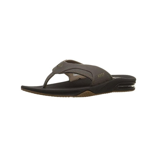 Reef Mens Fanning II Flip-Flops Bottle Opener Thong