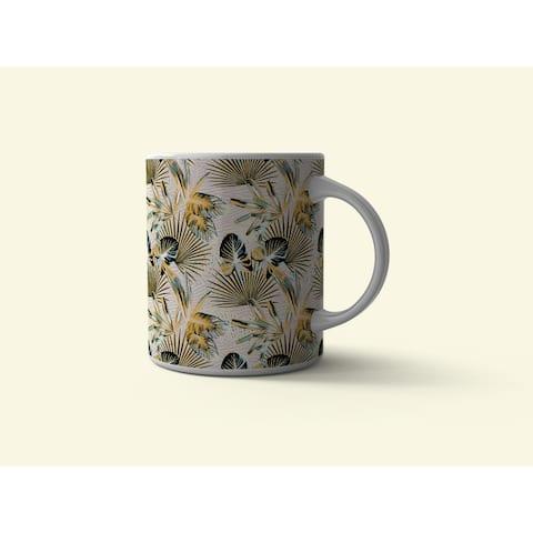 Amrita Sen Plant Illusion 11 oz Decorative Microwave Safe Thermosaf Mug