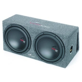 "Audiopipe APVB12AMP 12"" 600 Watts Single Vented Enclosure"
