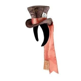 Alice In Wonderland Madhatter Mini Top Hat - Multi-Colored