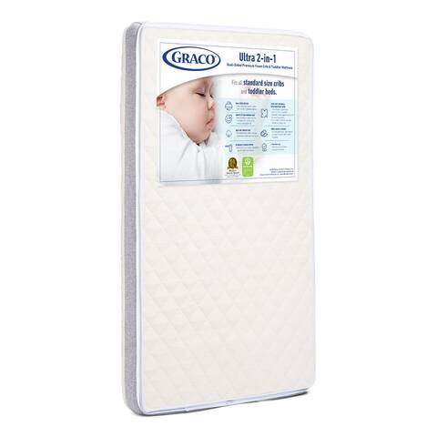 Graco Ultra-Premium 2-in-1 Crib Mattress