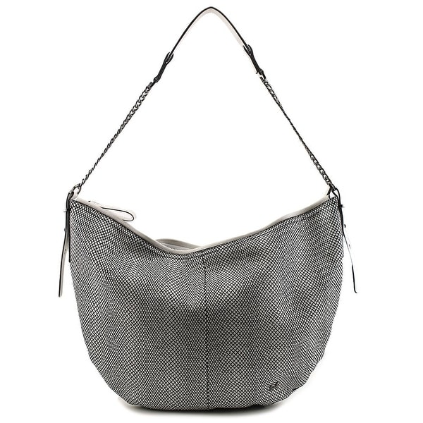 c58c3cdda0 Shop Halston Heritage CH200006N1 Women Leather Hobo - White - Free ...