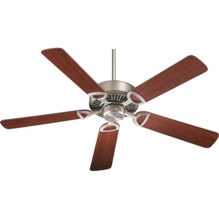 Quorum International Q43525 Energy Star Rated Traditional / Classic Indoor Ceiling Fan from the Estate 52 Collection