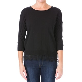 Impulse Womens Cotton Dolman Sleeves Pullover Sweater - S
