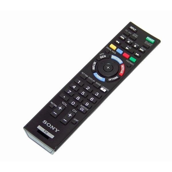 OEM Sony Remote Control Originally Shipped With KDL60W630B, KDL-60W630B, XBR49X850B, XBR-49X850B, XBR55X800B XBR-55X800B