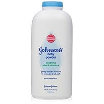 Johnson's Baby Powder, Pure Cornstarch, Aloe and Vitamin E, 22 Ounce